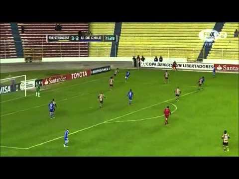 The Strongest 5 - 3 Universidad de Chile Copa Libertadores 2015