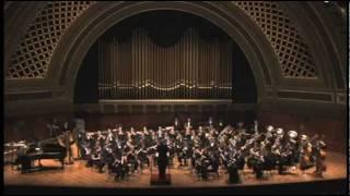 umich symphony band shostakovich festive overture