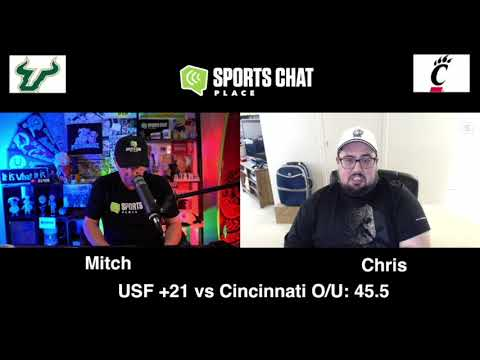 USF at Cincinnati - College Football Picks & Prediction - Saturday 10/3/20 | Sports Chat Place