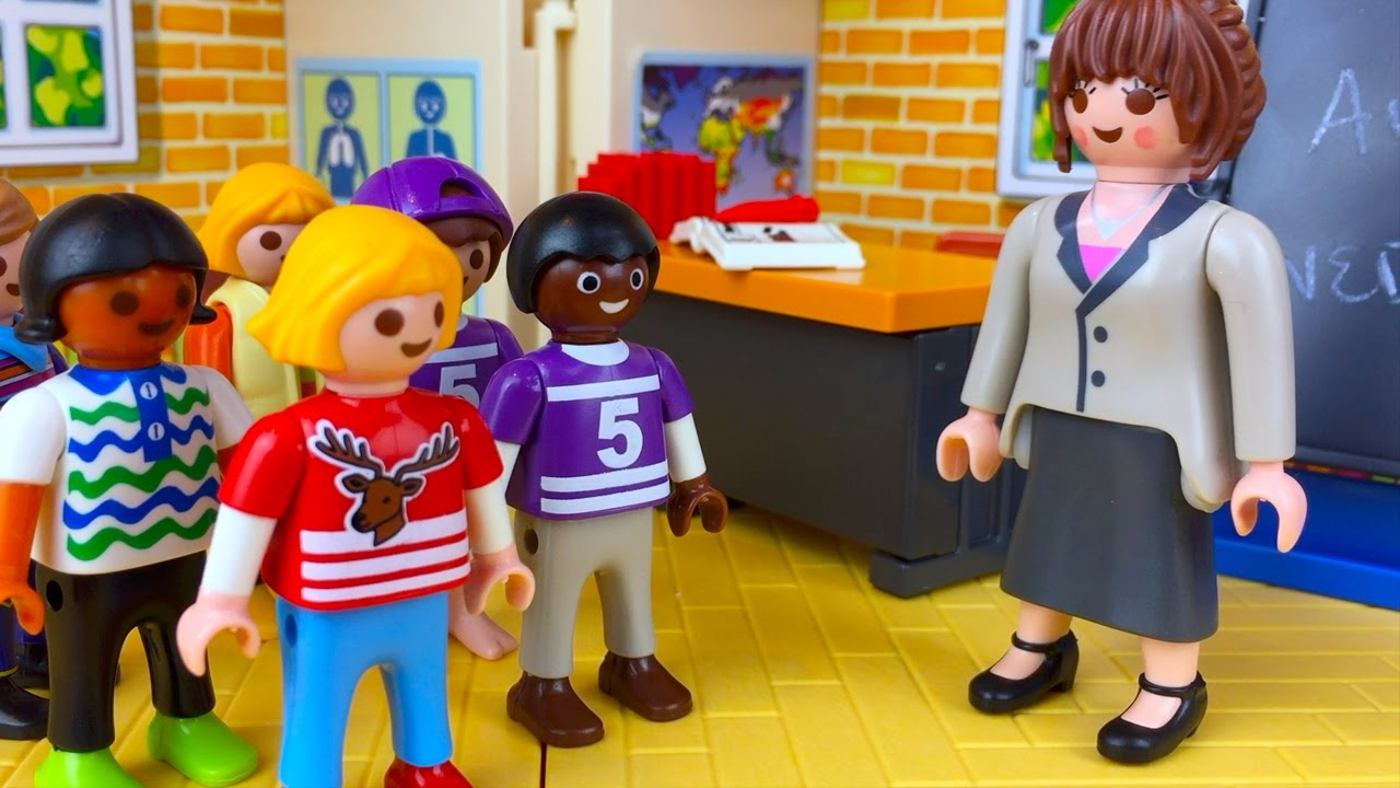 034e4dca85c Playmobil School Christmas Play Auditions - YouTube
