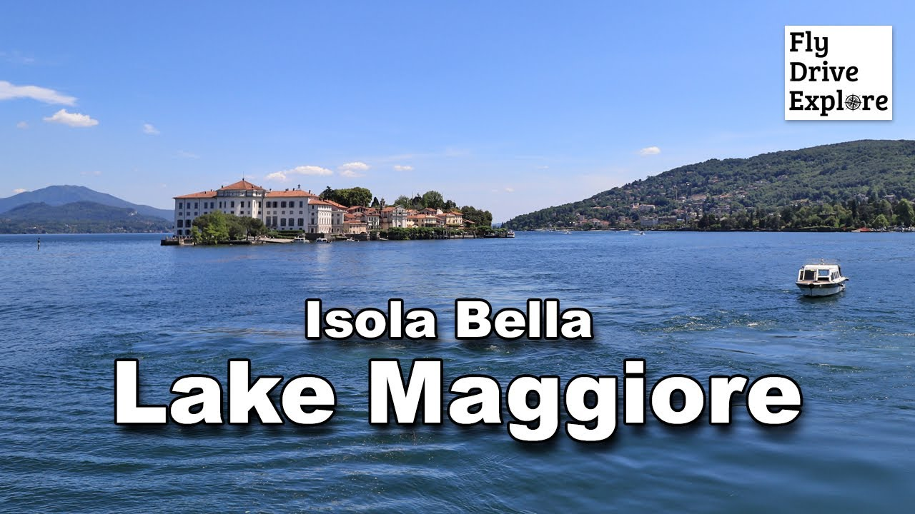 Beautiful Lake Maggiore And A Visit To Isola Bella, Italy