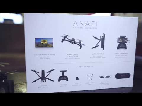 """Parrot Anafi unboxing drone """"What's in the box!?"""""""