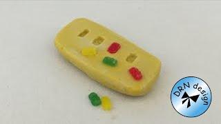 Polymer Clay Miniature - Gummi Bears