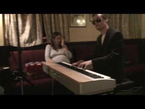 Derek Paravicini playing Wonderful World at the Station Hotel 19oct08