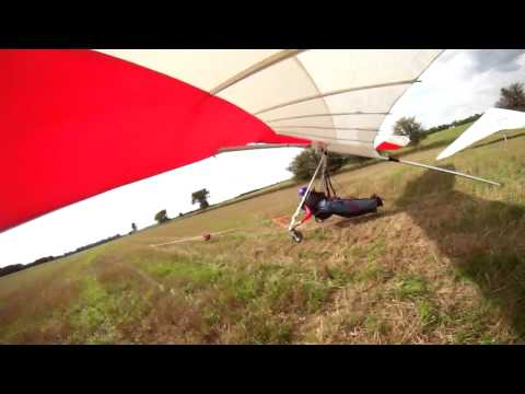 Aborted hang gliding mission