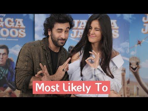 Most Likely To With Ranbir Kapoor & Katrina Kaif | Jagga Jasoos | MissMalini
