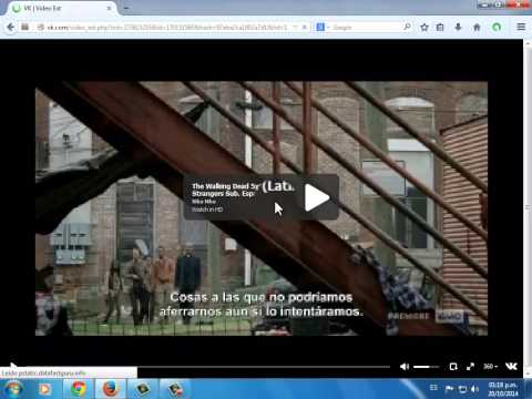 The Walking Dead 5x02 Strangers Sub. Español (latino)