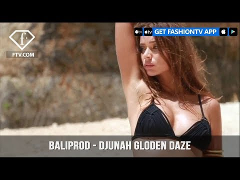 Djunah Swim Gloden Daze Baliprod Photo & Video Production Agency | FashionTV | FTV