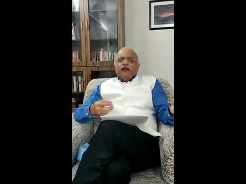 Dr.Vinay Sahasrabuddhe addressing #ICAN #INDIACAN platform in English