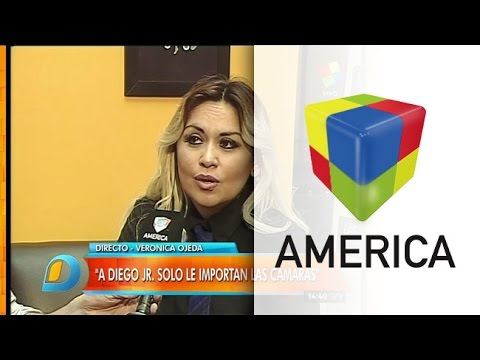 Verónica Ojeda le apuntó con todo a Diego Maradona Jr.