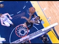 NBA Block Party: Vince Carter's 4 Rejections vs. the Spurs! | 02.06.17
