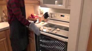 Making Orange Danish Rolls With Frosting