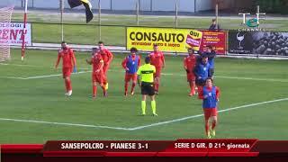 Serie D Girone D V.A.Sansepolcro-Pianese 3-1