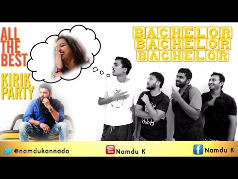Bachelor Bachelor Bachelor | Kannada funny vines|Kannada comedy|Kirik Party|Rakshit Shetty