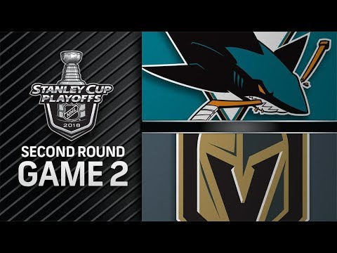 San Jose Sharks vs Vegas Golden Knights – Apr. 28 2018 | Game 2 | Stanley Cup 2018. Обзор