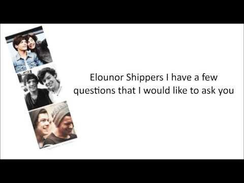 The Larry Song — Larry Shippers { lyrics }