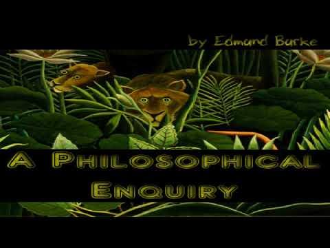 Philosophical Enquiry | Edmund Burke | Modern | Audiobook Full | English | 2/4