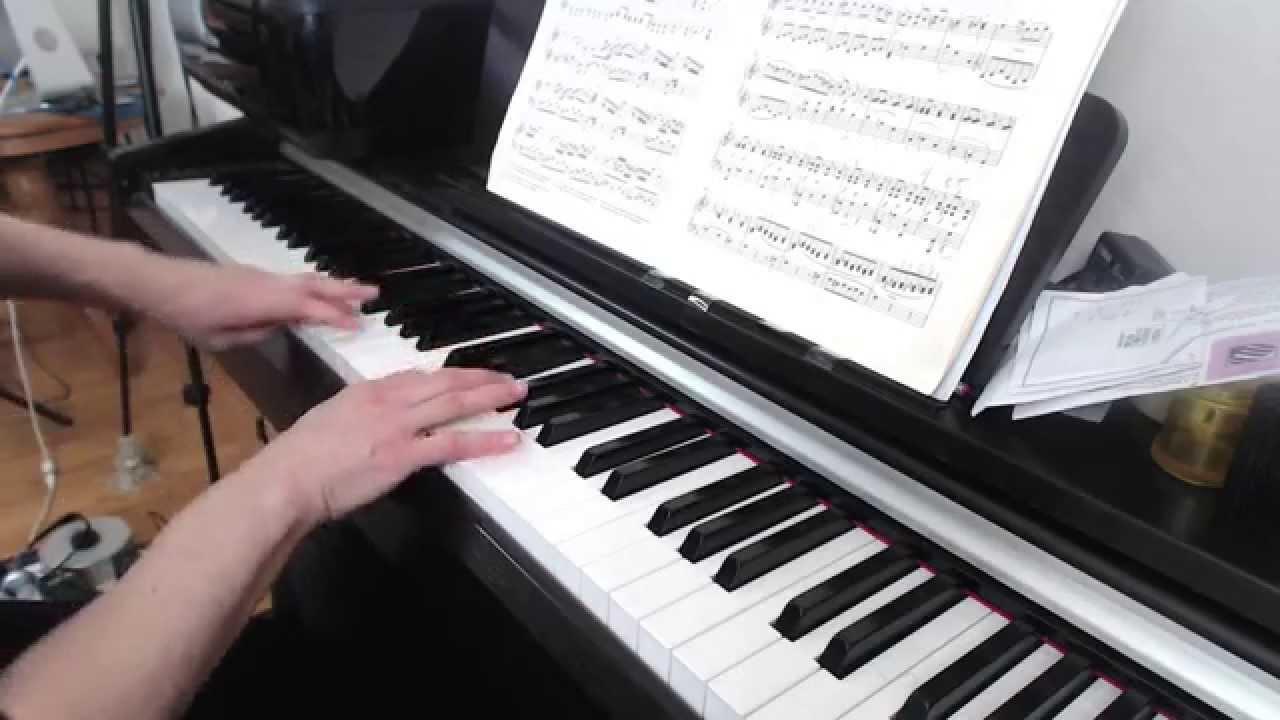 Piano Technique: C Major Arpeggio Legato to Staccato - YouTube