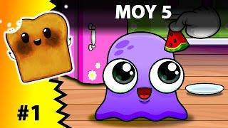 Video Moy 5 Virtual Pet Game Gameplay Walkthrough Kdis children | Level 1 - 2  | iOS Android download MP3, 3GP, MP4, WEBM, AVI, FLV Desember 2017