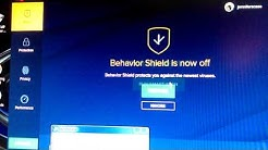 Avast Behavior Shield Crashing