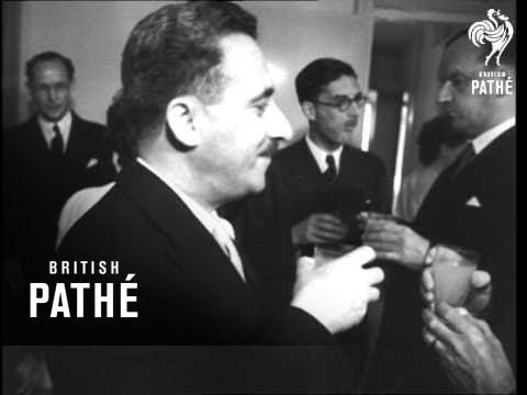 New British Ambassador To Israel (1949)