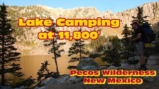 Alpine Lake Camping iฑ New Mexico - Pecos Wilderness - Overnight Trip