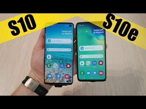 Samsung Galaxy S10 и Galaxy S10e и Galaxy Buds - Обзор