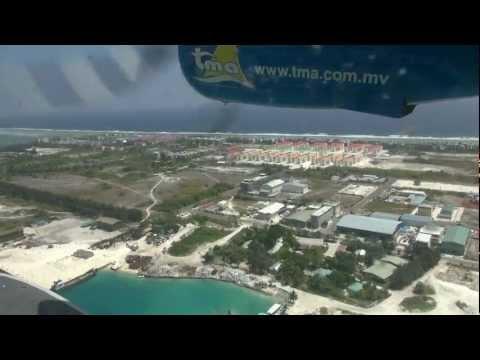 Maldives 2013 - flight Malé - Kuredu Island