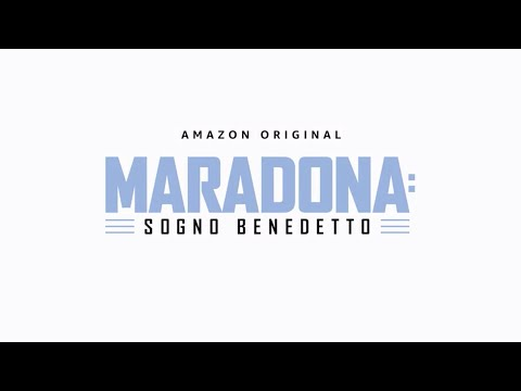 MARADONA: SOGNO BENEDETTO - OFFICIAL TEASER | AMAZON PRIME VIDEO