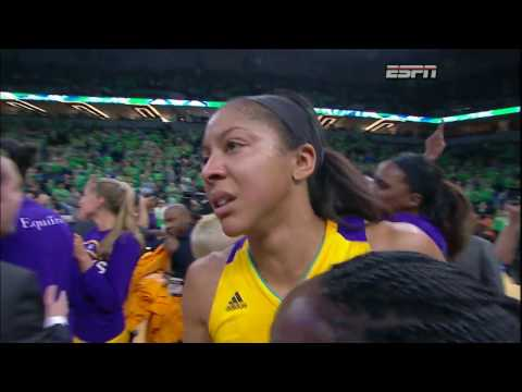 "Candace Parker: ""This is for Pat"""
