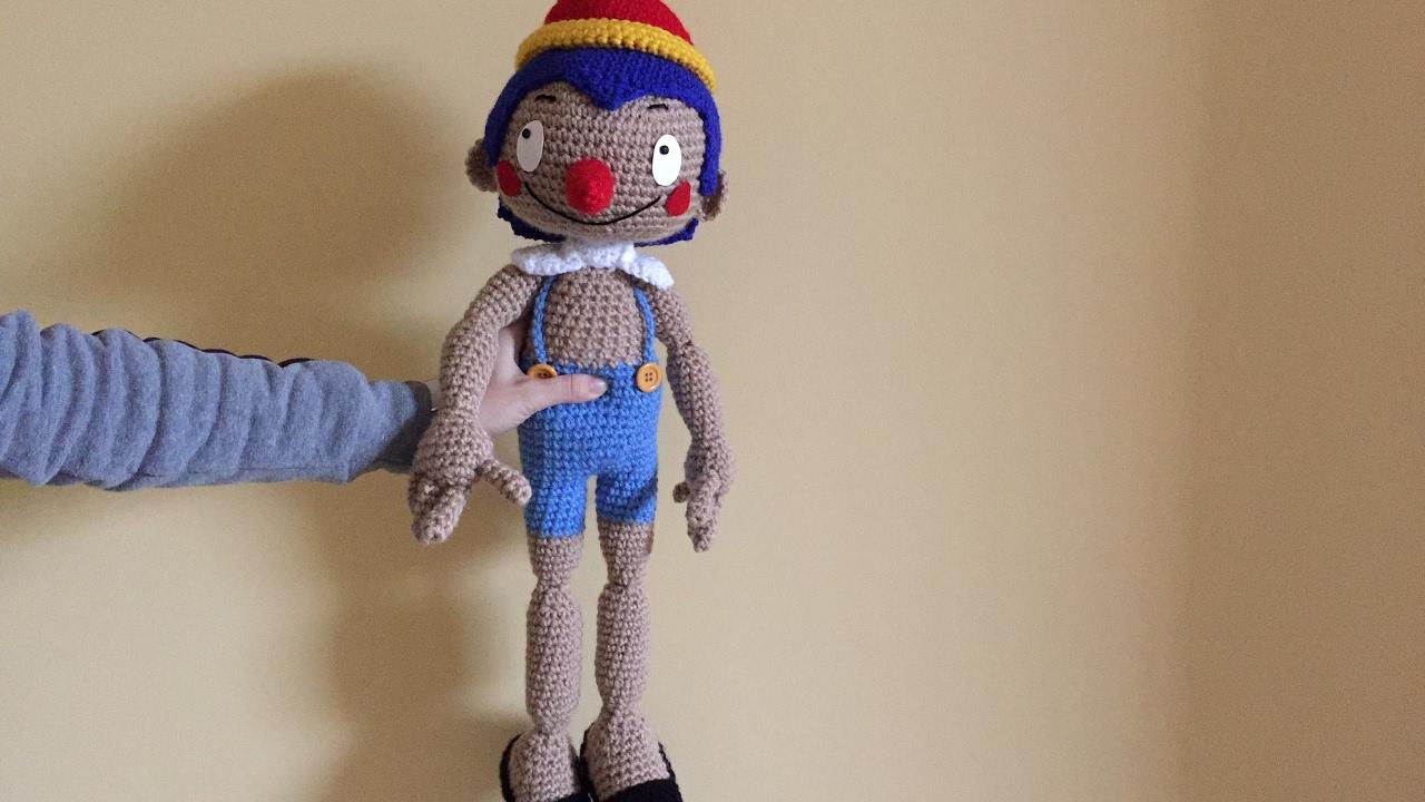 Pinocchio amigurumi prima parte cartone anni youtube