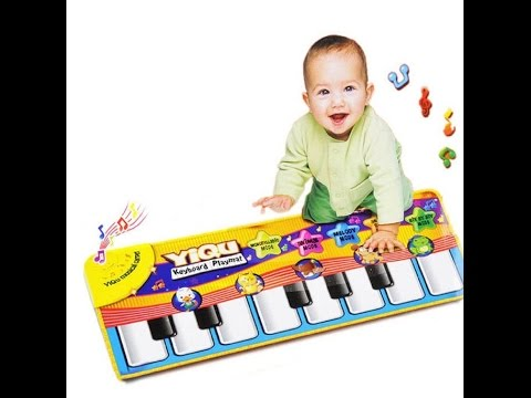 Review: TPT Best Baby Gift New Touch Play Keyboard Musical Singing Gym Carpet Mat