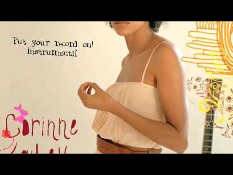 Put Your Record On Instrumental With Lyrics by Corinne Bailey Rae