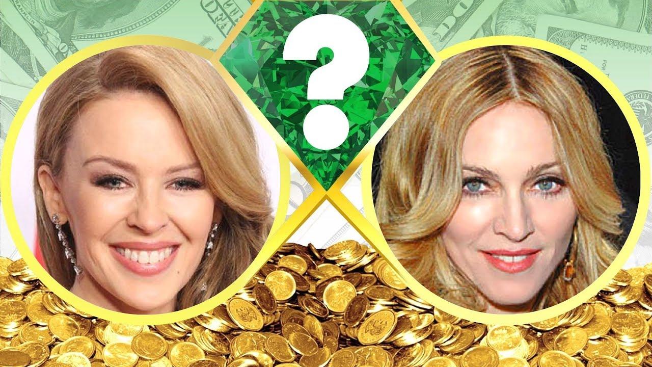 WHO'S RICHER? - Kylie Minogue or Madonna? - Net Worth ...