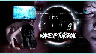 SAMARA MORGAN - The Ring / Rings Halloween Makeup Tutorial (deutsch) #spooktober