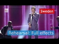 Robin Bengtsson I Can T Go On Sweden Rehearsal Full Effects Eurovision Song Contest 2017 mp3