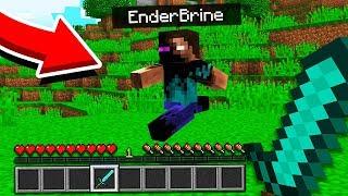 WE FOUND ENDERBRINE in Minecraft Pocket Edition