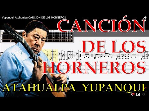 Canción de los Horneros tabs Atahualpa Yupanqui descargar guitar tabs tutorial
