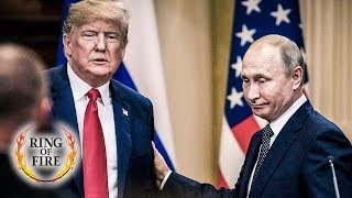 Dellusional Trump Throws His Own Intelligence Agency Under the Bus While Praising Putin