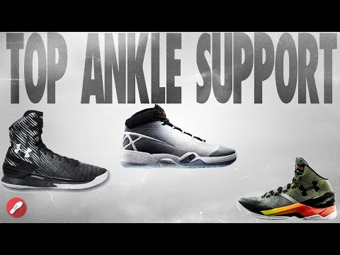 Top 5 Basketball Shoes for Ankle Support! from YouTube · Duration:  8 minutes 22 seconds