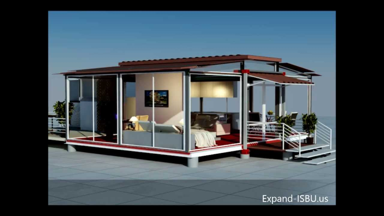 Mobile Home Ebs Block Expandable Building System Block