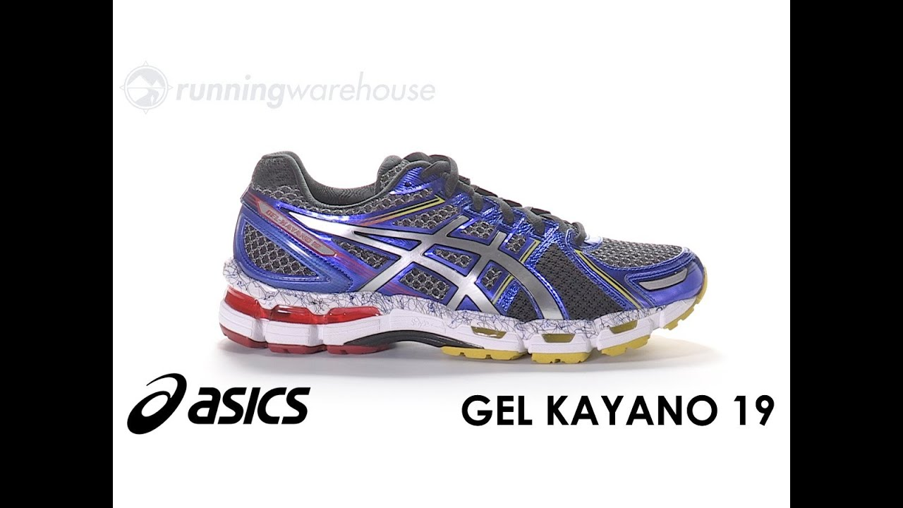 asics gel kayano 19 vs nimbus