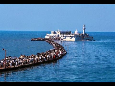 Haji Ali Dargah..(കടലിനു നടുവിലെ അത്ഭുത പള്ളി)Haji Ali, Mumbai, Maharashtra..Full Video.