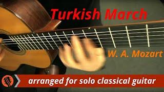 Repeat youtube video W. A. Mozart - Rondo alla Turca (Turkish March), solo classical guitar