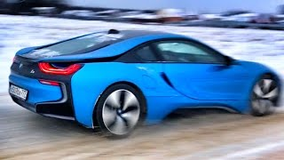 Тест BMW i8 Амирана (Дневник Хача) + стоит ли она своих 11 миллионов? Обзор баварца с батей : ) ДХ
