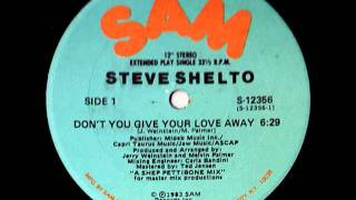Steve Shelto - Don
