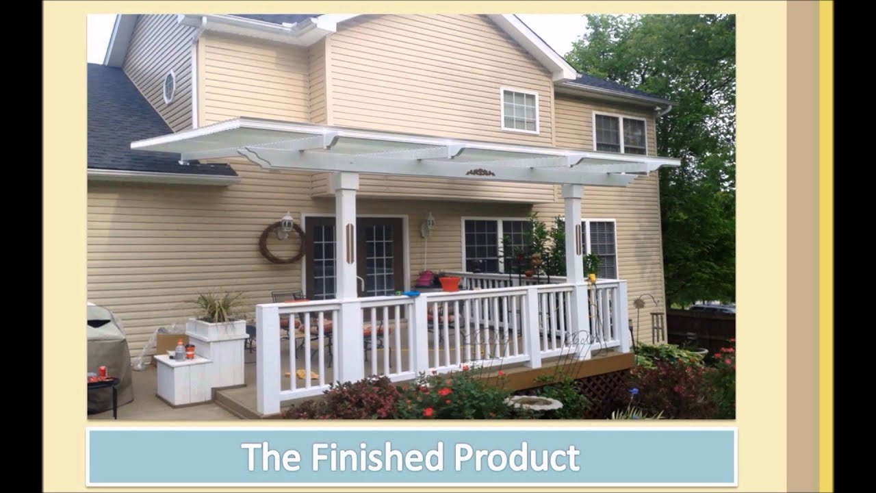 american louvered roof demo youtube