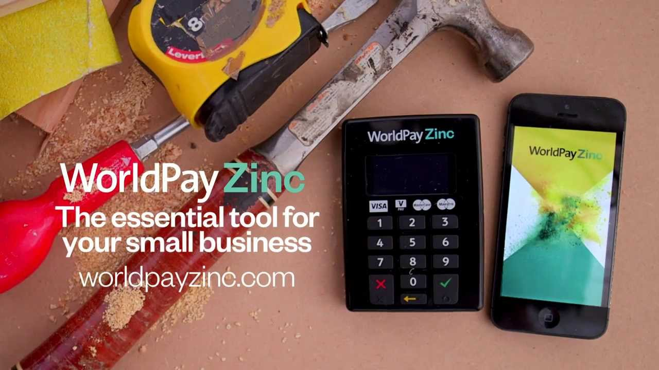 World Pay Zinc >> Worldpay Zinc Take Secure Card Payments Using Your Mobile