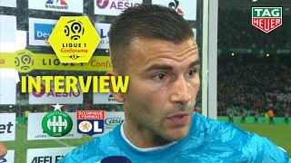Interview de fin de match : AS Saint-Etienne - Olympique Lyonnais (1-0) / 2019-20