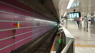 【08系トップナンバー編成】 3月25日中央林間駅 東京メトロ半蔵門線08系 08101F(51F)入線